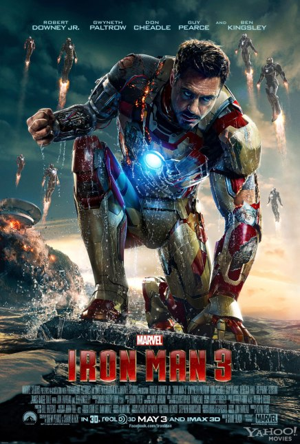 Iron Man 3, not much to say except I'm kind of over these movies...