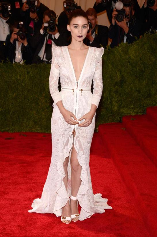 Rooney Mara looking sultry in Givenchy
