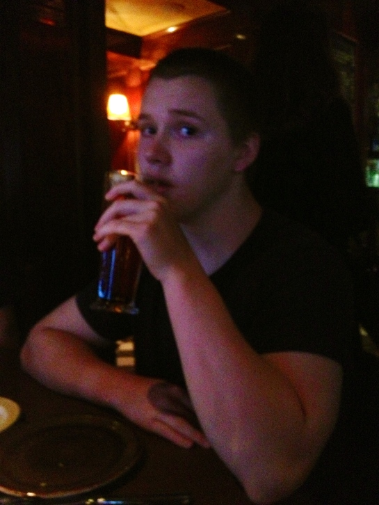 The Birthday Boy sippin on his drank