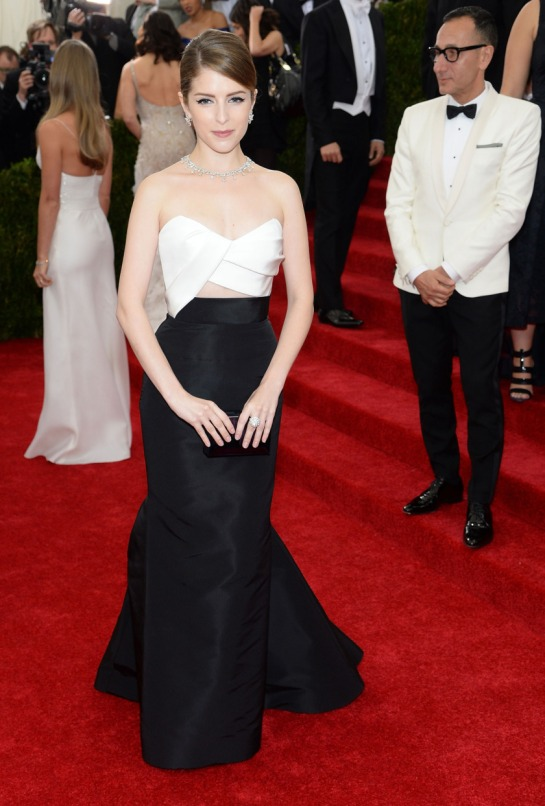 Anna Kendrick in Brian Atwood